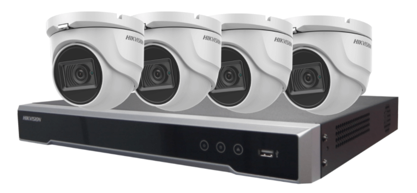 Dome CCTV system and hardrive