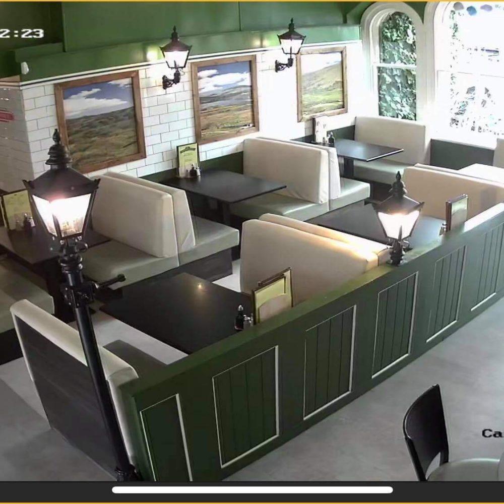 Cafe CCTV System