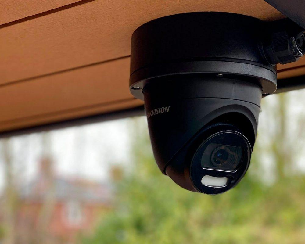 CCTV on Lodge