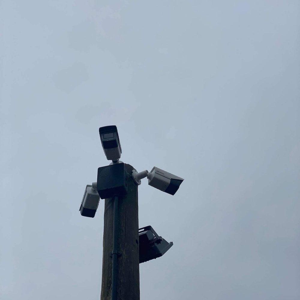 CCTV cameras positioning