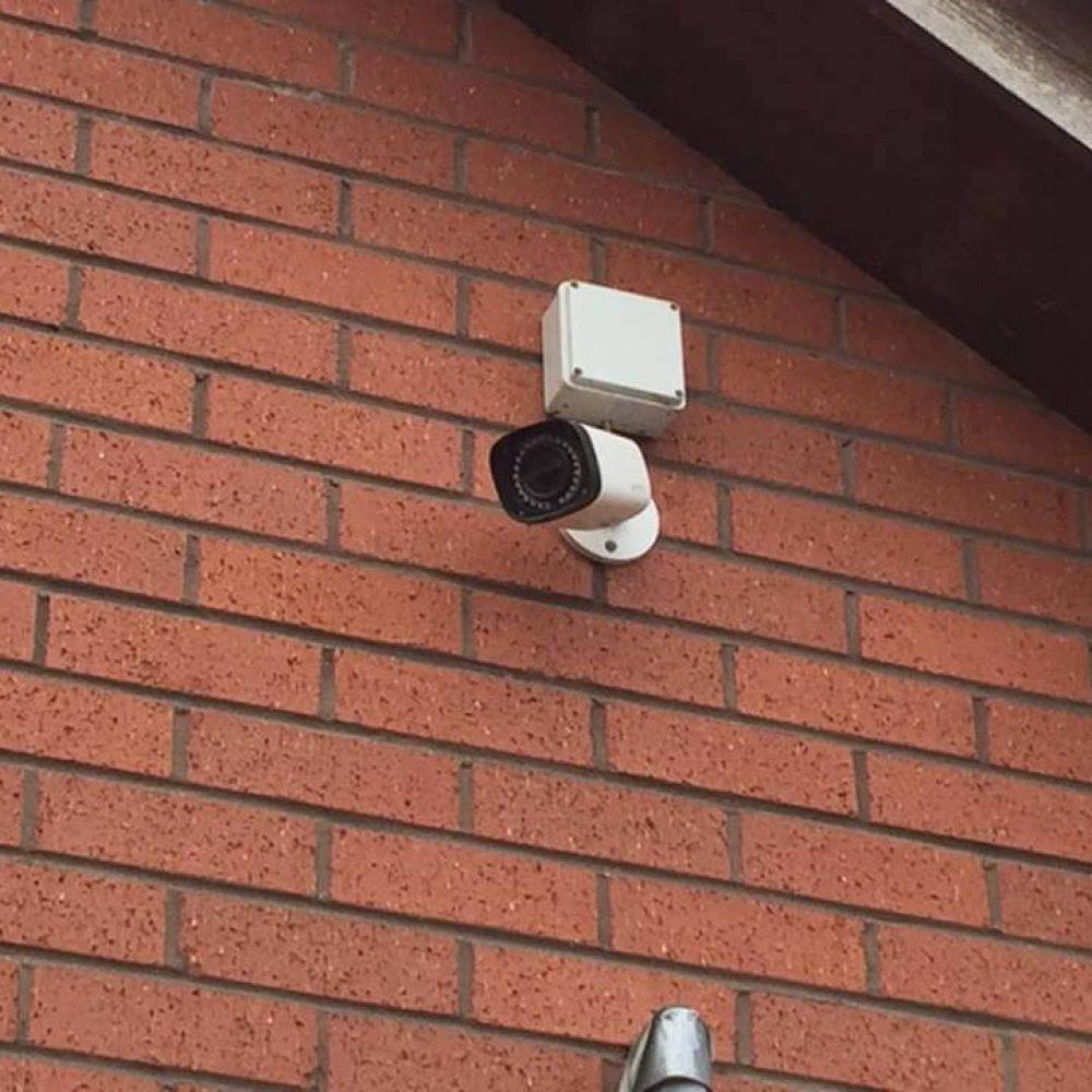 External IP CCTV camera
