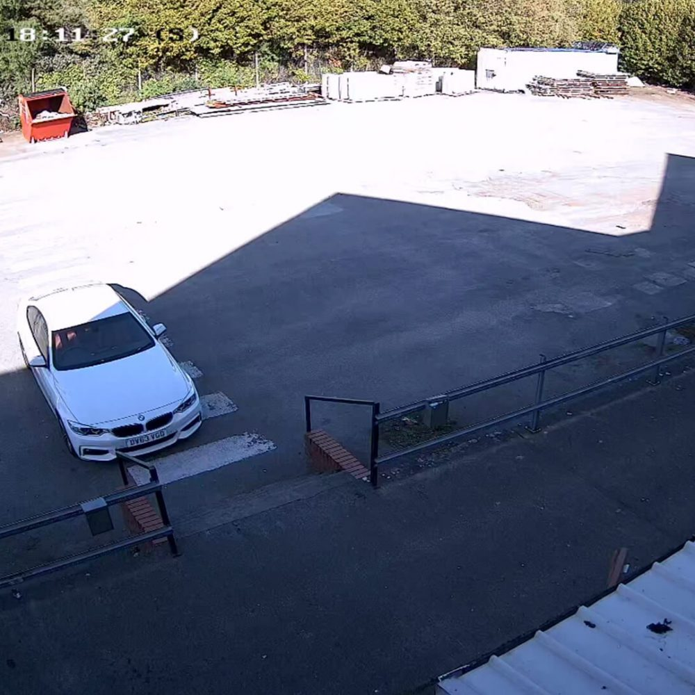 Factory Car Park CCTV