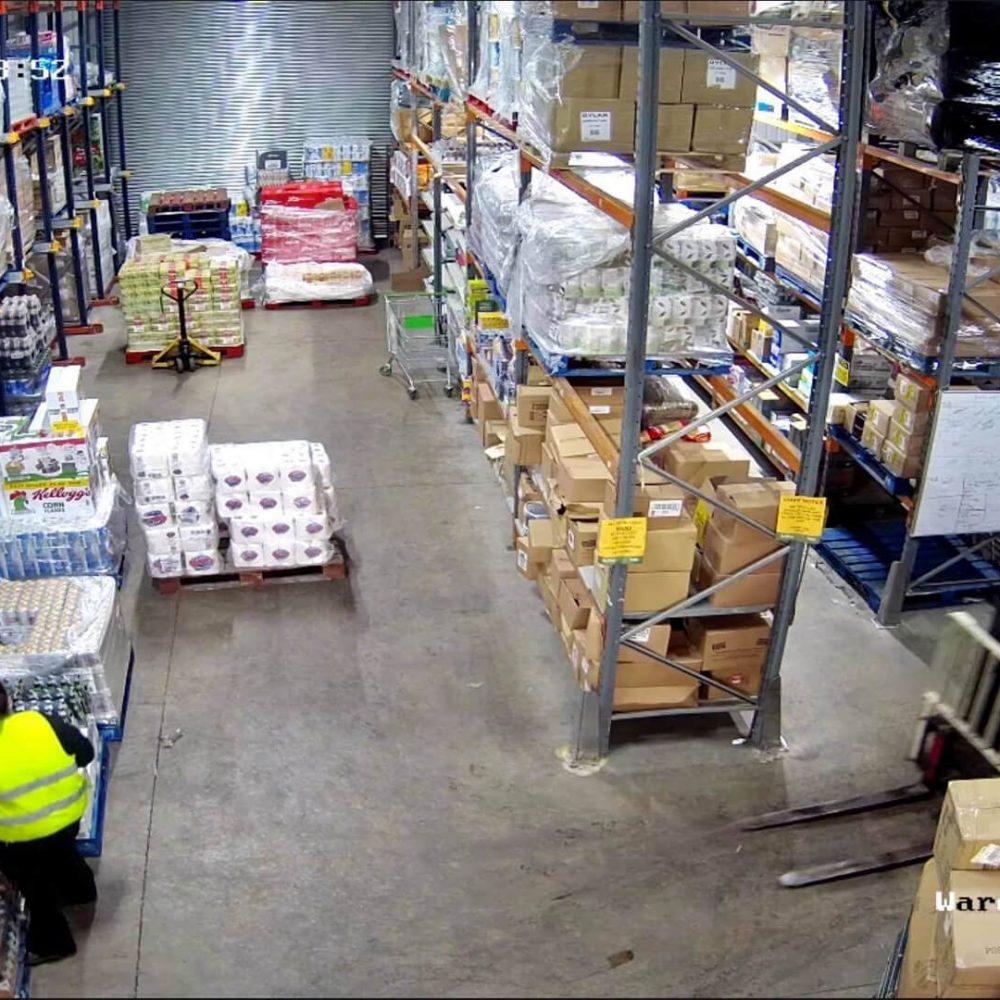 Warehouse CCTV Camera System